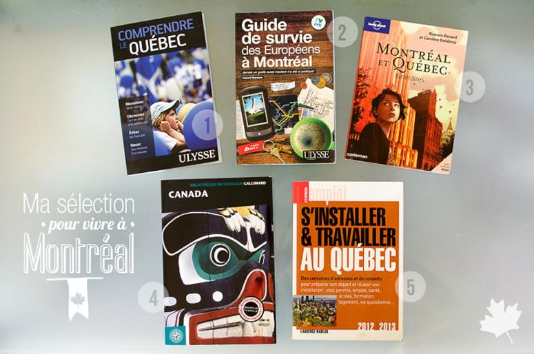 livres pour s'installer au canada