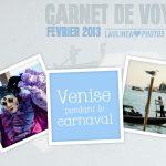 Carnet de voyage – Venise