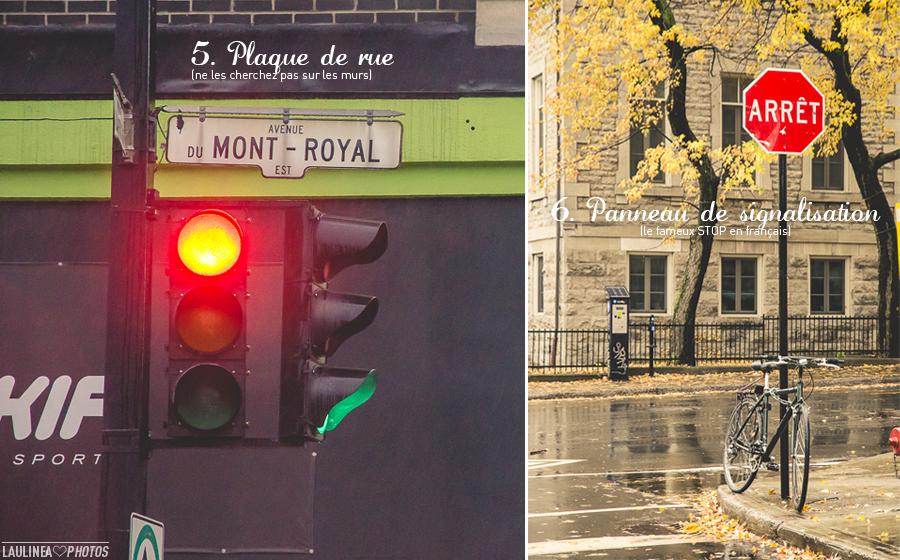 ten on ten - montréal, rue, ruelle, novembre, feu rouge, plaque de rue, mont-royal