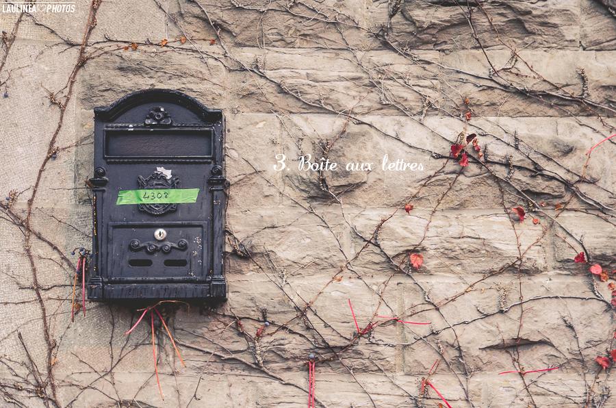 ten on ten - montréal, rue, ruelle, novembre, boîte aux lettres