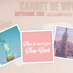 Carnet de voyage – New York