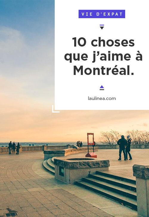 TOP 10 à Montréal. 10 choses que j'aime à Montréal (Québec, Canada). Vie d'expatrié #newlife #expatriation #immigration #top10