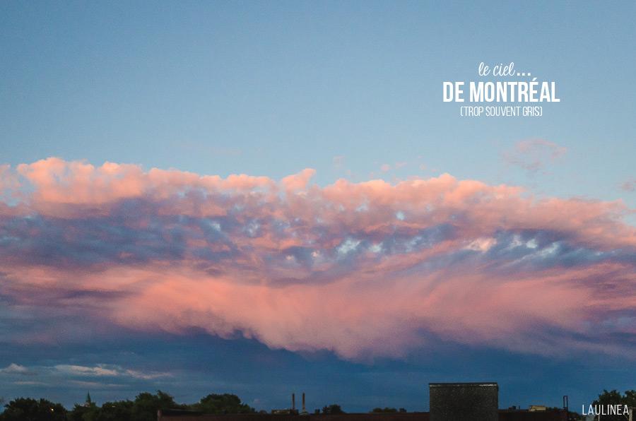ciel, nuage, rose, bleu, montréal, sky, été, summer
