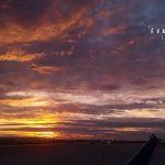 sunset, sunrise, soleil, coucher de soleil