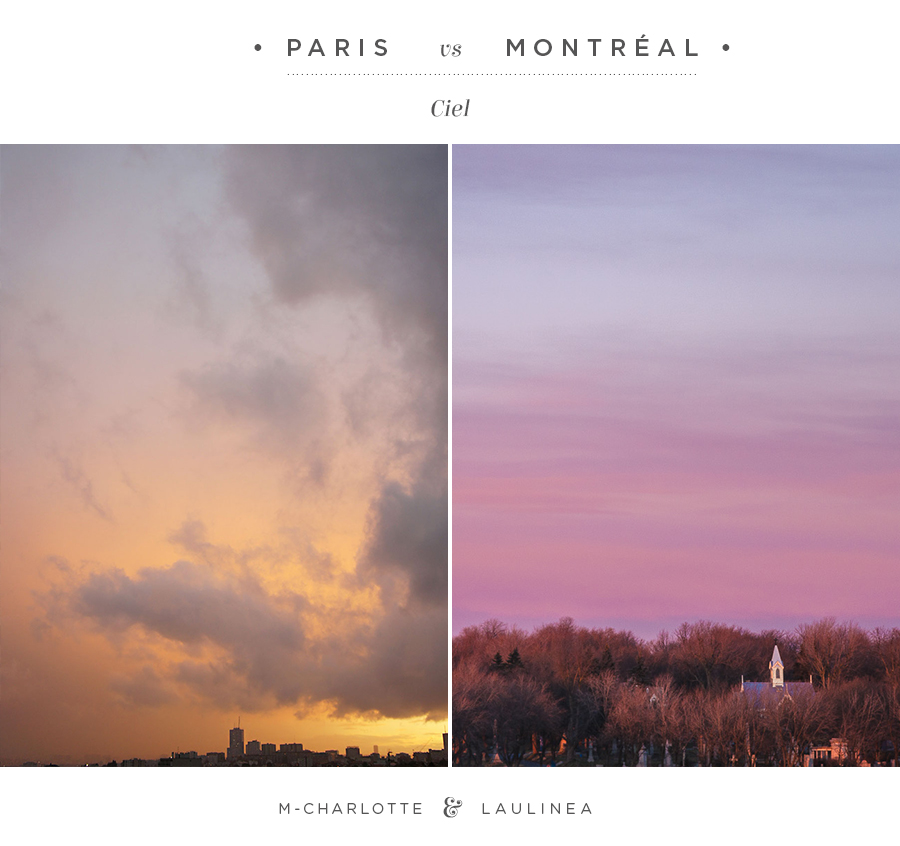 défi photo, paris VS Montréal, photo
