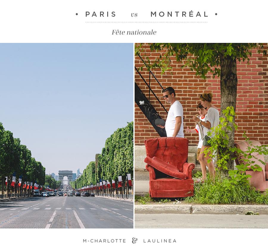 paris vs montréal, défi, fête nationale