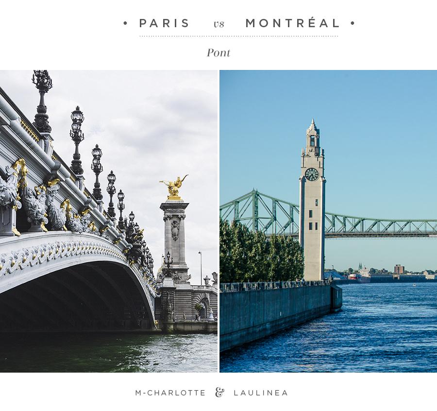 paris, montréal, pont, jacques cartier, Pont Alexandre III
