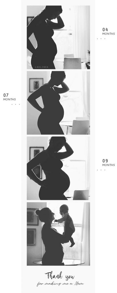 idée de photo originale avant après grossesse, enceinte, pregnancy, pregnant, give birth, donner naissance, mois après mois