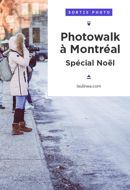 Le Photowalk Montréal, c'est une promenade dédiée à la photo. Régulièrement, des sorties photo avec des thèmes et des lieux différents à Montréal sont proposés. Cette fois, c'était Westmount et au marché Atwater, avec comme thème : Noël.
