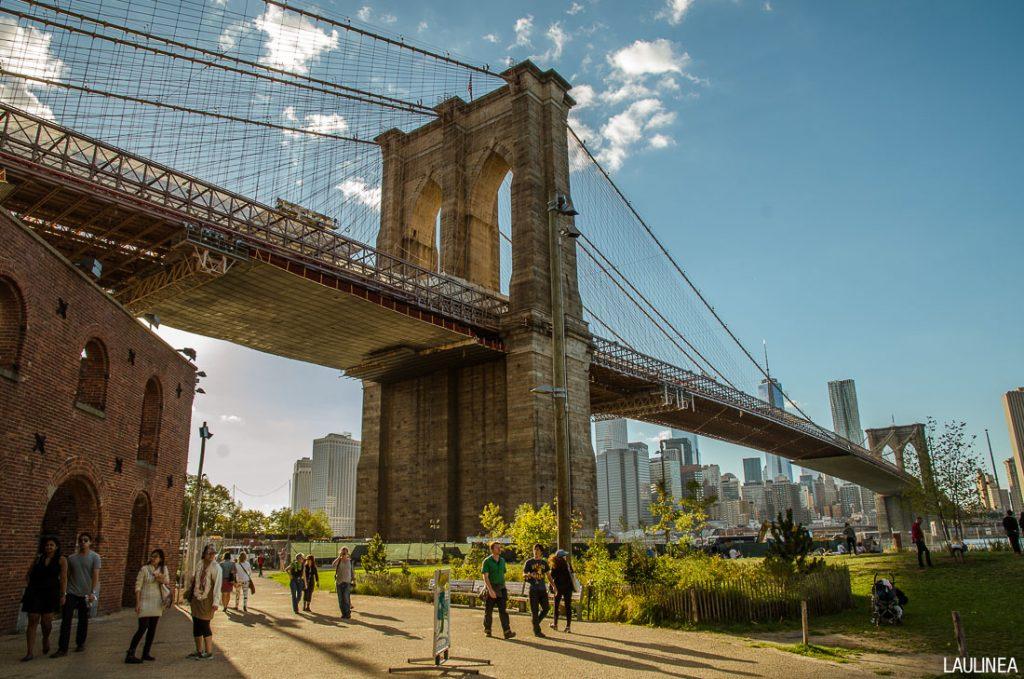 usa, états-unis, new-york, pont de brooklyn