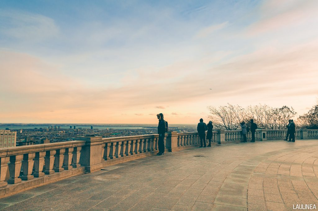 canada, montréal, parc mont-royal, hiver
