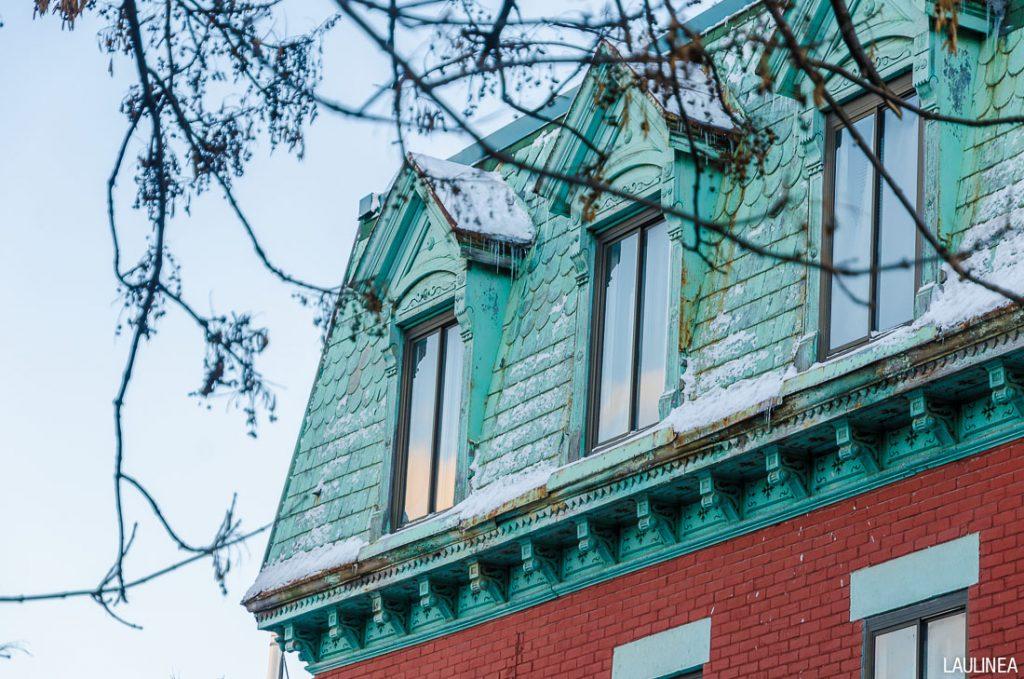 canada, montréal, architecture, hiver