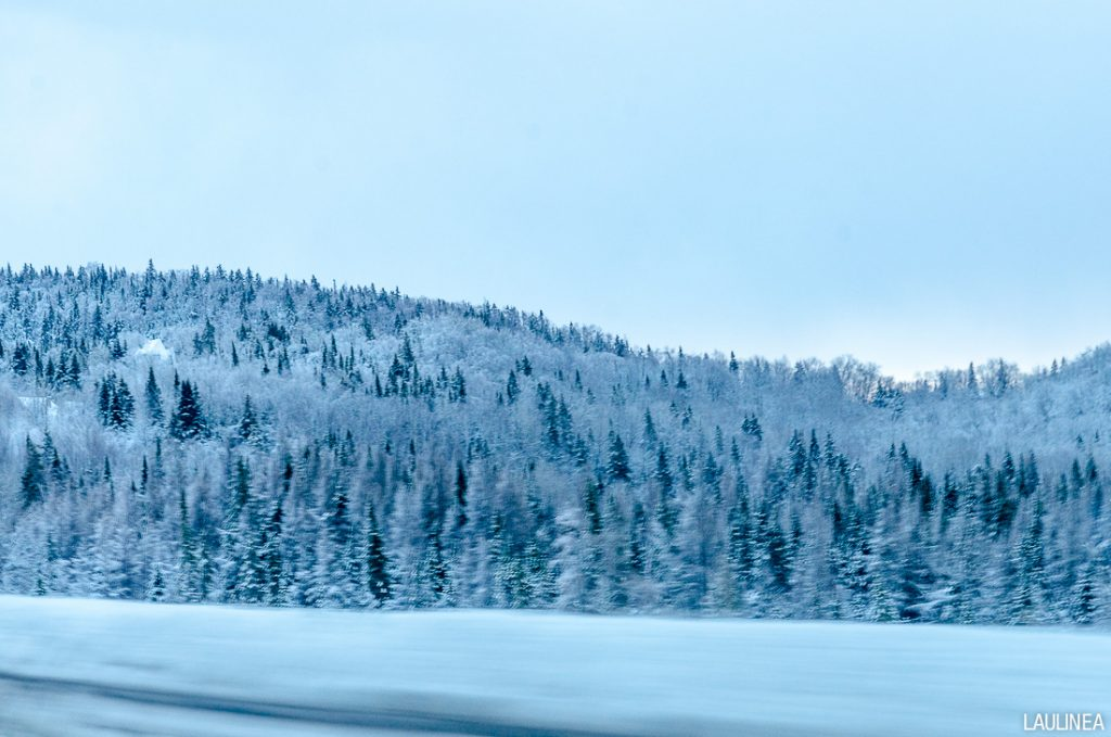 canada, québec, hiver