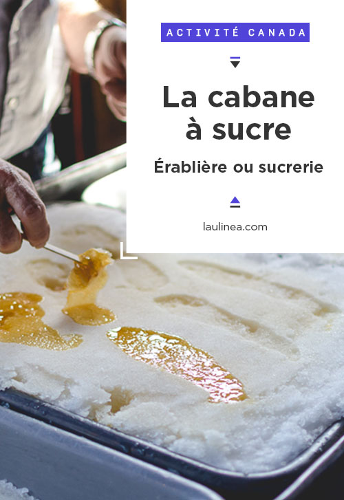 La cabane à sucre ! C'est l'activité typique à faire quand arrivele printemps au Québec !La cabane à sucre ou sucrerie est l'endroit où on fabrique les produits de l'érable, dont le fameux sirop d'érable. #activité #quebec #canada #cabaneasucre
