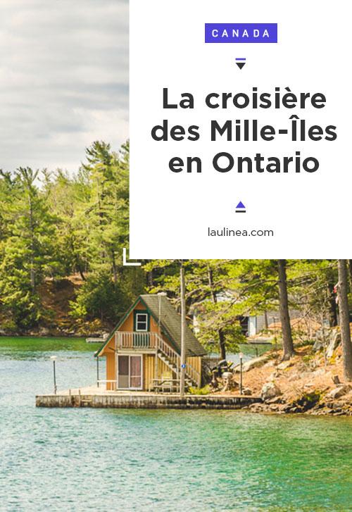 Les Mille-Iles ou Thousand Islandsest unarchipelsur lafrontière entre les États-Unis et le Canada, délimitée par lefleuve Saint-Laurent. On peut prendre un bateau à partir de Gananoque, Rockport ou encore de Kingston* pour une croisières au milieu des îles. #ontario #canada